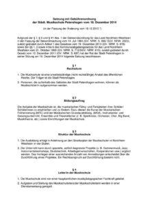 thumbnail of Satzung mit Gebührenordnung der Städt Musikschule Petershagen ab 01-2015