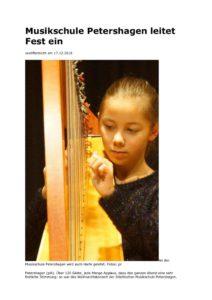 thumbnail of Musikschule Petershagen leitet Fest ein 122018