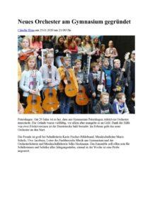thumbnail of Neues Orchester am Gymnasium gegründet MT 24.01.2020