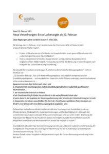 thumbnail of Corona Schutzverordnung 19.02.2021